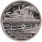 20 Euro (Viribus Unitis) -  reverse