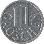 10 Groschen -  reverse