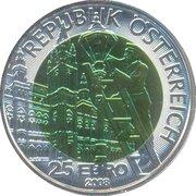 25 Euro (Carl Baron Auer von Welsbach) -  obverse
