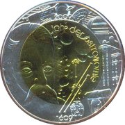 25 Euro (International Year of Astronomy) -  reverse