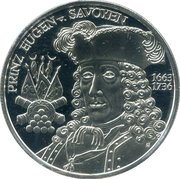 20 Euro (Baroque Period) -  reverse