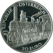 20 Euro (Biedermeier Period) – obverse