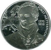 20 Euro (Biedermeier Period) – reverse