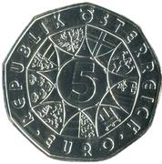 5 Euro (Land der Wälder) -  reverse