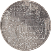 500 Schilling (Rosenburg) – obverse