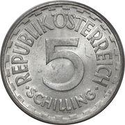 5 Schilling -  obverse