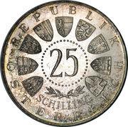 25 Schilling (Auer von Welsbach) -  obverse