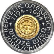 1000 Schilling (Vienna Mint) -  reverse
