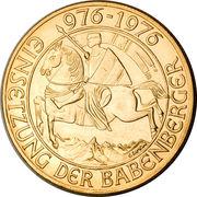 1000 Schilling (Babenberg Dynasty) – reverse