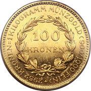 100 Kronen – reverse