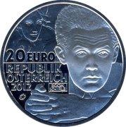 20 Euro (Egon Schiele) -  obverse