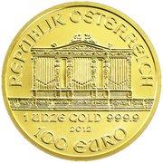 100 Euro (Vienna Philharmonic) -  reverse