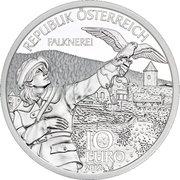 10 Euro (Carinthia - Silver Issue) -  reverse