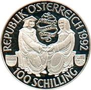 100 Schilling (Maximilian I) -  reverse