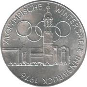 100 Schilling (Olympics) -  reverse