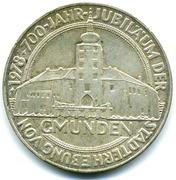 100 Schilling  (Gmunden) -  reverse