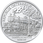 20 Euro (Nordbahnhof Wien) – obverse