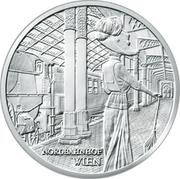20 Euro (Nordbahnhof Wien) – reverse