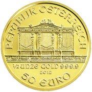 50 Euro (Vienna Philharmonic) -  reverse