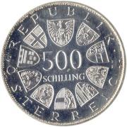 500 Schilling (Austrian Red Cross) -  obverse