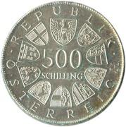 500 Schilling (St. Severin) -  reverse