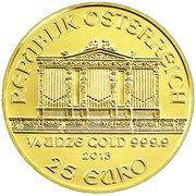 25 Euro (Vienna Philharmonic) -  reverse