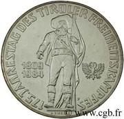500 Schilling (Tirolean Revolution) -  reverse