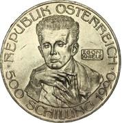 500 Schilling (Egon Schiele) -  obverse