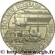 500 Schilling (Austrian Railroad) -  reverse