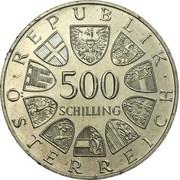 500 Schilling (Austrian Railroad) -  obverse