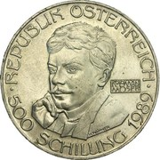 500 Schilling (Koloman Moser) -  obverse