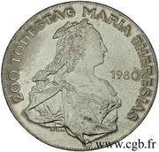 500 Schilling (Maria Theresia) -  reverse