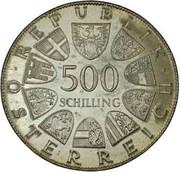 500 Schilling (Maria Theresia) -  obverse