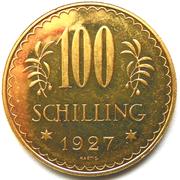 100 Schilling -  reverse