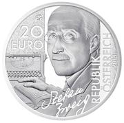 20 Euro (Stefan Zweig) -  obverse