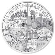 10 Euro (Niederösterreich - Silver Issue) -  reverse