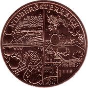 10 Euro (Niederösterreich) -  reverse