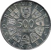 500 Schilling (Bregenz) -  reverse