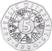 5 Euro (Land des Wassers) -  reverse