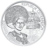 10 Euro (Vorarlberg - Silver Issue) -  obverse