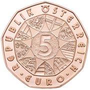 5 Euro (New Year) -  reverse