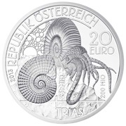 20 Euro (Triassic) – obverse