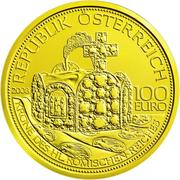 100 Euro (Crown of the Holy Roman Empire) -  obverse