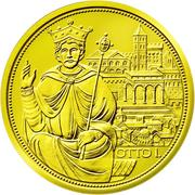 100 Euro (Crown of the Holy Roman Empire) – reverse