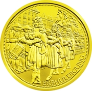 100 Euro (The archducal crown of Austria) – reverse