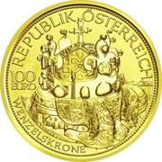 100 Euro (The Crown of St.Wenceslas) -  obverse