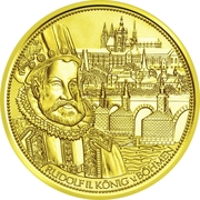 100 Euro (The Crown of St.Wenceslas) -  reverse