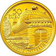 50 Euro (The bicentenary of the Joanneum at Graz) -  obverse
