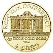 4 Euro (Vienna Philharmonic) -  obverse