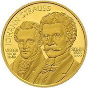500 Schilling (Johann Strauss) -  obverse